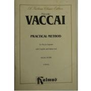 A kalmus Classic Edition - Niccolo Vaccai - Practical Method for Mezzo Soprano - K06463