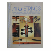 ALL FOR STRINGS - Book 01 - SCORES E MANUAL Comprehensive String Method - 78F