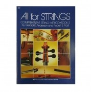 All For Strings Comprehensive String Method - Book 2 para Viola by Gerald E Anderson and Robert S Fr
