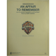 An Affair To Remember - Lyric by Harold Adamson & Leo McCarey - T4075APV