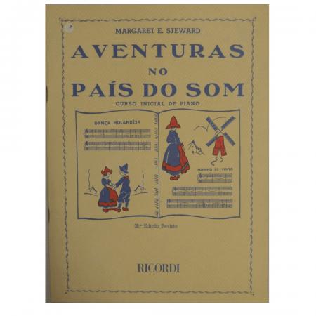 AVENTURAS NO PAÍS DO SOM - Curso Inicial de Piano - Margaret E. Steward RB0049