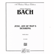 BACH - JESU, JOY OF MAN'S DESIRING - Piano Solo - PA02306
