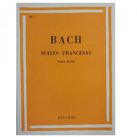 Bach - Suites Francesas Para Piano - RB0045