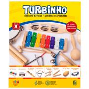 Bandinha Rítmica 08 Instrumentos Turbinho BR-7