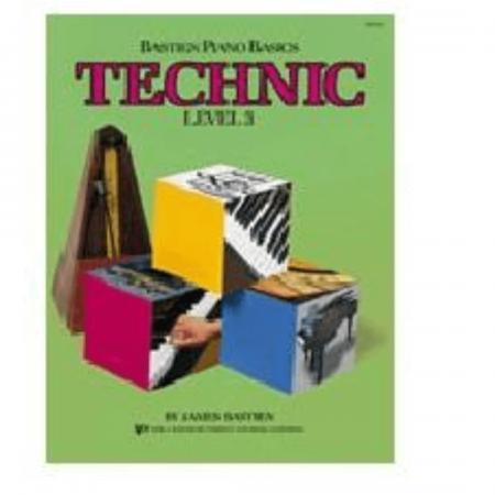 Bastien Piano Basics - Technic - Level 3 - James Bastien - WP218