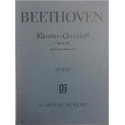 Beethoven Klavier - Quintett Opus 16 Blaserfassung - Urtext - G. Henle Verlag - 222