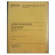 BEETHOVEN String Quartets Op. 59, 74, 95 Set of Parts - Ludwig Van Beethoven