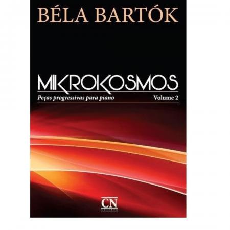 BÉLA BARTÓK - MIKROKOSMOS - Peças progressivas para piano - VOLUME 2 - Português CN025