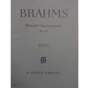 Brahms Handel - Variationen Opus 24 - Urtext - G. Henle Verlag - 272