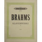 Brahms Klavierwerke I - Urtext - Edition Peters Nr. 8200a