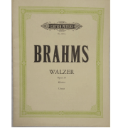 Brahms Walzer Opus 39 Klavier Urtext - Edition Peters NR3666A
