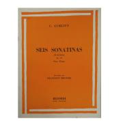 C. GURLITT - SEIS SONATINAS FÁCEIS PARA PIANO - Op. 188 - RB0018