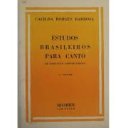 Cacilda Borges Barbosa - Estudos Brasileiros para Canto ( 20 Exercícios preparatórios ) Vol. 01