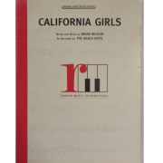 California Girls - Words and Music by Brian Wilson As Recorded by The Beach Boys 0127CSMX