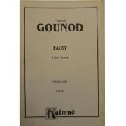 Charles Gounod FAUST A Lyric Drama CHORUS SCORE - K06193