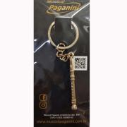 Chaveiro Metal Formato Flauta Paganini PCH090