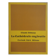 Claude Debussy La Cathédrale engloutie Carisch S.p.A Milano ML 21985