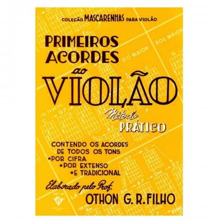 Coleção Mascarenhas para Violão Primeiros Acordes ao Violão Método Prático - 297M
