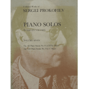 Collected Works of Sergei Prokofiev Pianos Solos In Eleven Volumes Volume Seven K05007