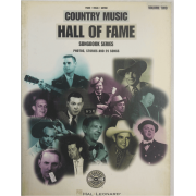 Country Music Hall of Fame Volume Two - Piano, Vocal e Guitar HL00313059