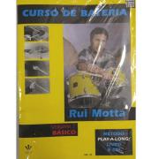 Curso de Bateria Rui Motta - Volume 1 Básico Método Play-a-long: Livro e CD! - 340M