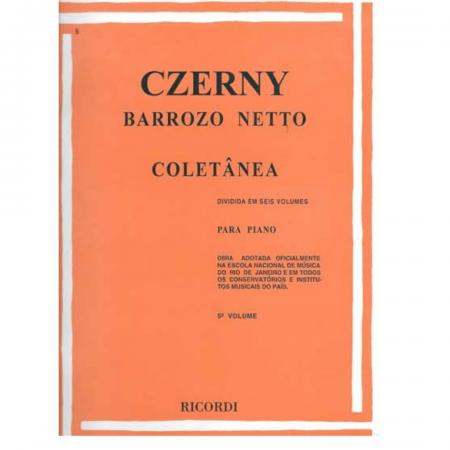 CZERNY - Coletânea - Volume 5 - 35 Estudos - Barrozo Netto RB0035