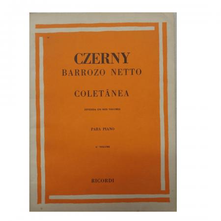 CZERNY - Coletânea - Volume 6 - 32 Estudos - Barrozo Netto - RB0036