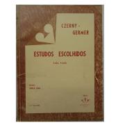 CZERNY - GERMER - ESTUDOS ESCOLHIDOS PARA PIANO - 3º VOLUME - Revisão Souza Lima - 258M