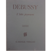 Debussy L' Isle Joyeuse - Urtext - G. Henle Verlag - 386