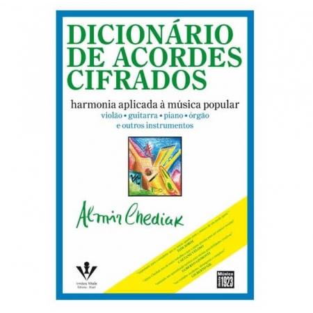 Dicionário De Acordes Cifrados Harmonia Aplicada À Música Popular Almir Chediak - 317m