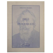 Drei Intermezzi Op. 117 - Johannes Brahms - Urtext 22440