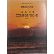 Edvard Grieg Selected Compositions Book I Piano Solo - K9852
