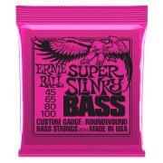 Encordoamento Baixo 4 Cordas Ernie Ball 2834 Super Slinky 45-65-80-100