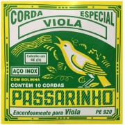 Encordoamento / corda Passarinho Viola Cebolão Re-d - PE920