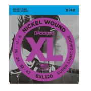 Encordoamento Guitarra Daddario EXL120B - 9 / 42