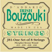 Encordoamento Irish Bouzouki Strings Phosphor Bronze D`Addario - J81