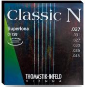 Encordoamento Thomastik Superlona CF128 profissional para Violão Nylon Clássico Flat Wound