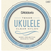 Encordoamento Ukulele D'Addario Tenor Clear Nylon - EJ65T