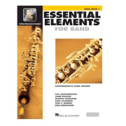 Essential elements for band - vol. 1 - oboé - book/audio online - HL00862567