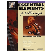 Essential elements for strings - volume 2 - cello livro / media online HL00868059