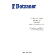 F. Dotzauer violoncello method volume I - O3674