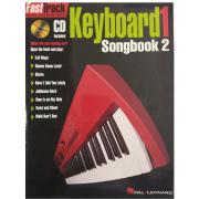 Fasttrack Music Instruction Keyboard Songbook 2 Level 1 BK/CD HL00695366