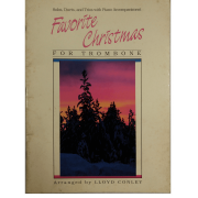 Favorite Christmas For Trombone Solos, Duets, And Trios With Piano Accompaniment F3260tbx