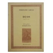 Ferdinando Carulli DUOS Op. 34 N.os 5 e 6 Revisão e digitação de Henrique Pinto MCM0355