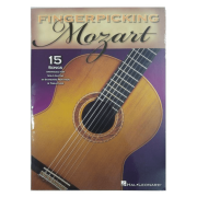 Fingerpicking Mozart 15 Songs Arranged for Solo Guitar In Standard Notation & Tablature