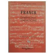 Franck Symphonic Variations 2 Pianos 4 Hands - Kalmus Piano Series No. 3442