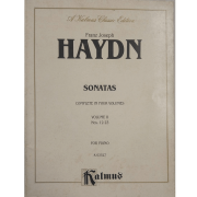 Franz Joseph Haydn Sonatas Complete In four Volumes Volume II Nos.12-23 For Piano K03527