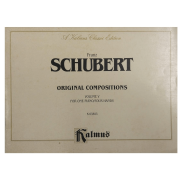 Franz Schubert Original Compositions Volume V for One Piano / four Hands K 03893 Kalmus