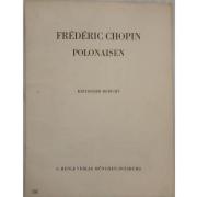 Frédéric Chopin Polonaisen - Kritischer Bericht - G. Henle Verlag Munchen - Duisburg - 249