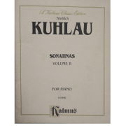 Friedrich Kuhlau Sonatinas Volume II for Piano K03600 Kalmus